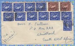 Great Britain Cover South West Africa SWA - 1952 - Wildings Queen Elizabeth - 1952-.... (Elizabeth II)