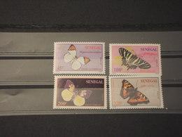 SENEGAL - 1995 FARFALLE 4 VALORI - NUOVI(++) - Senegal (1960-...)