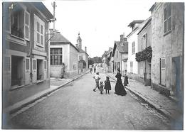 SAINT MAMMES - La Grande Rue - PHOTO D'excellente Qualité 17.5 X 12.4 Cm - Saint Mammes