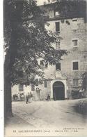 31. SALINS-LES-BAINS . CASERNE CLER + CHEVAUX  . CARTE NON ECRITE - Autres Communes