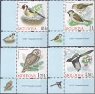 "Moldova 2010 ""Birds"" 4v Quality:100% - Moldavië"