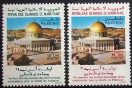 MAURITANIE                      N° 377/378                      NEUF** - Mauritanie (1960-...)