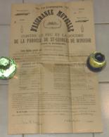 Assurance Mutuelle - Contre Le Feu Et La Foudre De La Paroisse De St-George De Windsor, Cte Richmond, 1935 - Canada