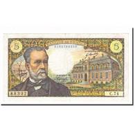 France, 5 Francs, Pasteur, 1968, 1968-04-04, TTB, Fayette:61.07, KM:146b - 1962-1997 ''Francs''