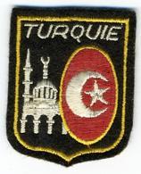 TURQUIE - Ecussons Tissu