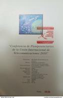 RO) 2010 MEXICO, SATELLITE -SPACE -ITU - PLENIPOTENTIARIES OF THE INTERNATIONAL TELECOMMUNICATIONS UNION, FDB XF ( Oct. - Mexico