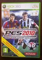 MA20 PES 2010 Pro Evolution Soccer - Gioco XBOX 360 - Usato Con Manuale ITA - X-Box