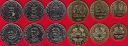 Tajikistan Set Of 6 Coins: 10 Diram - 5 Somoni 2018 UNC - Tadjikistan