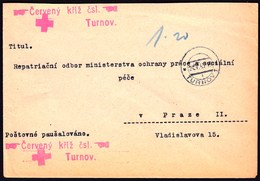Czechoslovakia Turnov 1945 / Red Cross - Sonstige