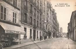 75 Paris Rue Compans 20e Arrondissement Cpa - Arrondissement: 20