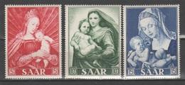 Sarre 1954 - Anno Mariano **            (g6391) - 1947-56 Occupazione Alleata