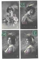 Fantaisies Gros Lot De 2000 CPA Femmes/Enfants/Couples/Fètes... - Postcards