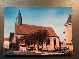 MAURECOURT  COOP ABRI DE BIS TRAVAUX RENAULT 4CV N°51 4L CITROEN 2CV BORNE INCENDIE WW  EGLISE - Maurecourt