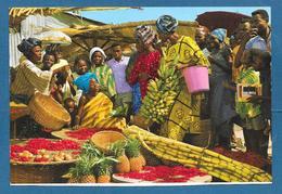 AFRIQUE MARKET WOMEN - Cartoline