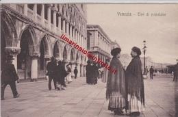** VENEZIA.- TIPI DI POPOLANE .-** - Venezia