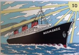 Patrick Hamm Cinquantenaire Du Paquebot Normandie N°217 - Hamm