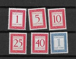 1957 MNH Nederlands Nieuw Guinea Port Postfris** - Nouvelle Guinée Néerlandaise