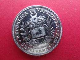 Venezuela  5 Bolivares  1973  Y44 - Venezuela