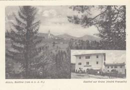 ALDEN-ALDINO--BOLZANO-BOZEN-GASTHOF ZUR =KRONE=-CARTOLINA NON VIAGGIATA ANNO 1950-1958 - Bolzano (Bozen)