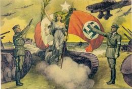Fascismo - Incontro Mussolini - Hitler - Weltkrieg 1939-45