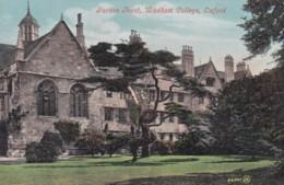 OXFORD - WADHAM COLLEGE -GARDEN FRONT - Oxford