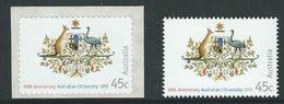 Australia 1999 MiNr. 1784 - 5  Australien  CITIZENSHIP Staatswappen 2V   MNH **   2,00  € - Mint Stamps
