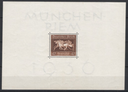 Germania Reich 1936 Unif. BF6 **/MNH VF/F - Unused Stamps