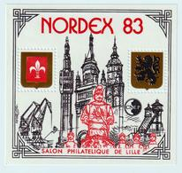 BLOC   CNEP  - N°  4   NORDEX 1983  - SALON PHILATÉLIQUE  DE LILLE    -  NEUF - - CNEP