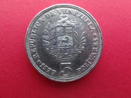 Venezuela  5 Bolivares  1977  Y53-1 - Venezuela