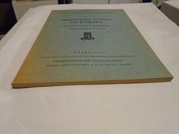 DIABASE ORDOVICIENNE DE KARIZEK ORDOVICKY DIABAS OD KARIZKU  1951Prague  Dr Frantisek FIALA / Volcans Volcanologie... - Livres, BD, Revues