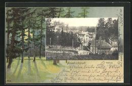 Passepartout-AK Friedrichsruh, Schloss - Friedrichsruh