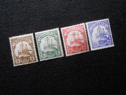 D.R.20/21 Ll/22b/23 Llc*MLH  Deutsche Kolonien (Kamerun) 1905/1919 -  Mi 8,50 € - Colonia: Camerun