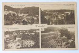 Kurhaus Und Neubad, Ferdinandbrunnen, Kreuzbrunnen, Marienbad Mariánské Lázně, Česko Czechia Czech Republic (damaged) - Czech Republic