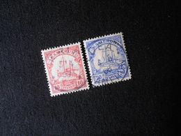 D.R. 22a/10  10/20Pf  Deutsche Kolonien (Kamerun) 1906/1900 -  Mi 4,80 € - Colonia: Camerun