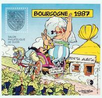 BLOC   CNEP  - N°  7 -  BOURGOGNE  1987  - SALON PHILATÉLIQUE  DE DIJON    -  NEUF - - CNEP