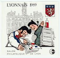 BLOC   CNEP  - N°  10-  LYONNAIS  1989  - SALON PHILATÉLIQUE  DE LYON    -  NEUF - - CNEP