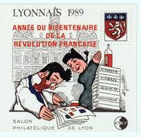 BLOC   CNEP  - N°  11-  LYONNAIS  1989  - SALON PHILATÉLIQUE  DE LYON    -  NEUF - - CNEP