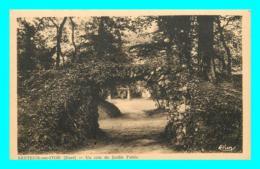 A813 / 287 27 - BRETEUIL SUR ITON Un Coin Du Jardin Public - Breteuil