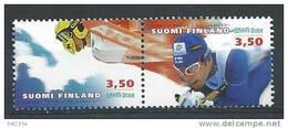 Finlande 2001  Paire N°1519A Neuve Championnat Du Monde De Ski - Finlande
