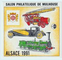 BLOC   CNEP  - N°  13-  ALSACE 1991  - SALON PHILATÉLIQUE  DE MULHOUSE     -  NEUF - - CNEP