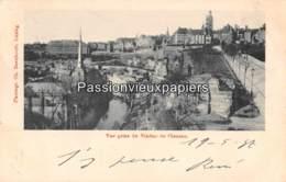 LUXEMBOURG  1897  VUE Prise Du VIADUC De CLAUSEN  (Bernhoeft) - Luxembourg - Ville