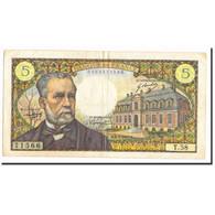France, 5 Francs, 1967, 1967-05-05, TTB, KM:146b - 5 F 1966-1970 ''Pasteur''