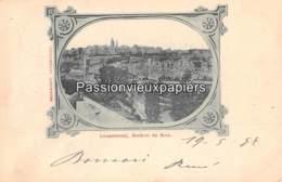 LUXEMBOURG  1897  ROCHERS Du BOCK  (Bernhoeft) - Luxembourg - Ville