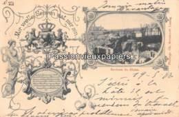 LUXEMBOURG  1897 MIR WELLE BLEIWE WAT MIR SIN  ROCHERS DU RHAM (Bernhoeft) - Luxembourg - Ville
