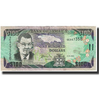 Billet, Jamaica, 100 Dollars, 2002, 2002-01-15, KM:80b, SPL - Jamaique