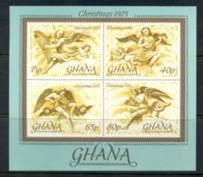 Ghana 1975 Xmas MS MUH - Ghana (1957-...)