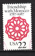 ##1, USA, Amitié Avec La Maroc, Friendship With Morocco - Etats-Unis