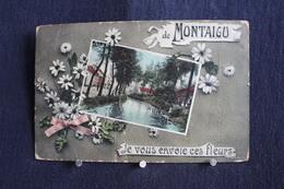 L-263 / Scherpenheuvel-Zichem, De Montaigu - Je Vous Envoie Ces Fleurs / Circulé 1908 - Scherpenheuvel-Zichem
