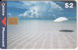 AUSTRALIA(chip) - Beach Scene, Exp.date 06/00, Used - Australia