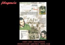 CUBA. ENTEROS POSTALES. AEROGRAMA 2005 ERNESTO CHE GUEVARA EN ÁFRICA - Cuba
